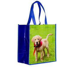 الصين Recyclable Laminated Non Woven Bag Laminated Gift Shopping Bag Eco Friendly المزود